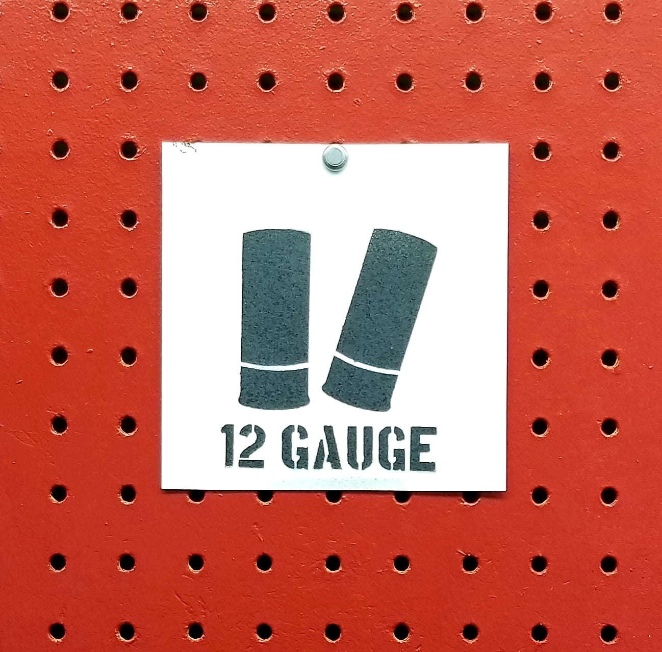 12 Gauge Ammo Spray Paint Stencil