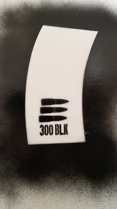 300 Blackout Magazine Stencil