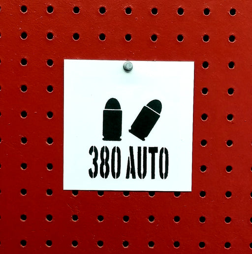 380 Auto Ammo Spray Paint Stencil