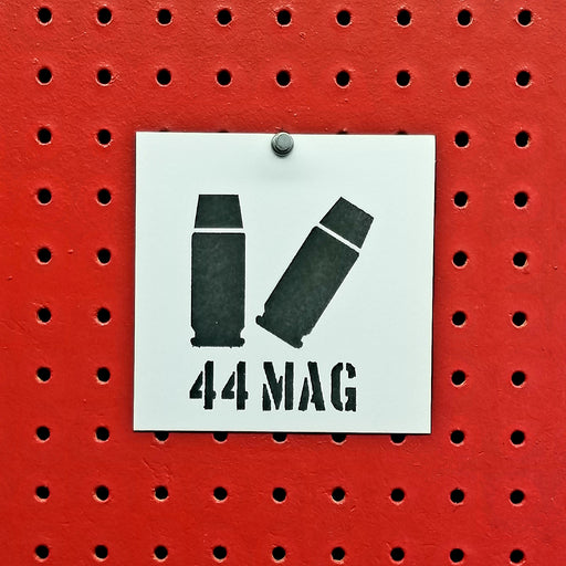 44 Magnum Ammo Spray Paint Stencil