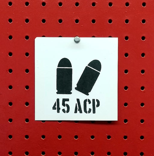 45ACP Ammo Spray Paint Stencil