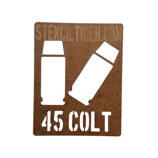 45 Colt Ammo Spray Paint Stencil
