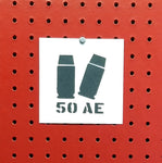 50 Action Express Ammo Spray Paint Stencil