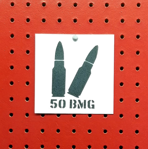 50 BMG Ammo Spray Paint Stencil