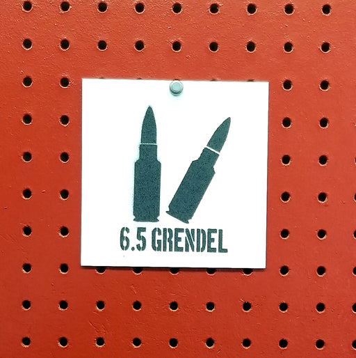 6.5 Grendel Ammo Spray Paint Stencil