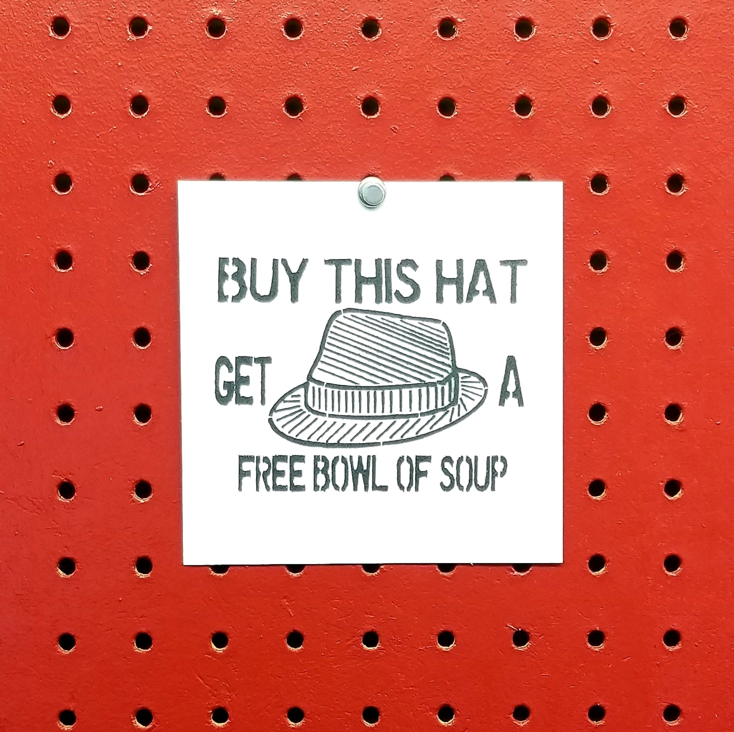 Buy This Hat Get A Free Bowl Of Soup Caddyshack Spray Paint Stencil