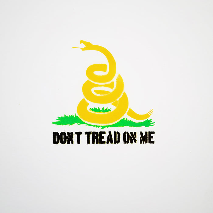 Don't Tread On Me Gadsden Flag Spray Paint Stencil