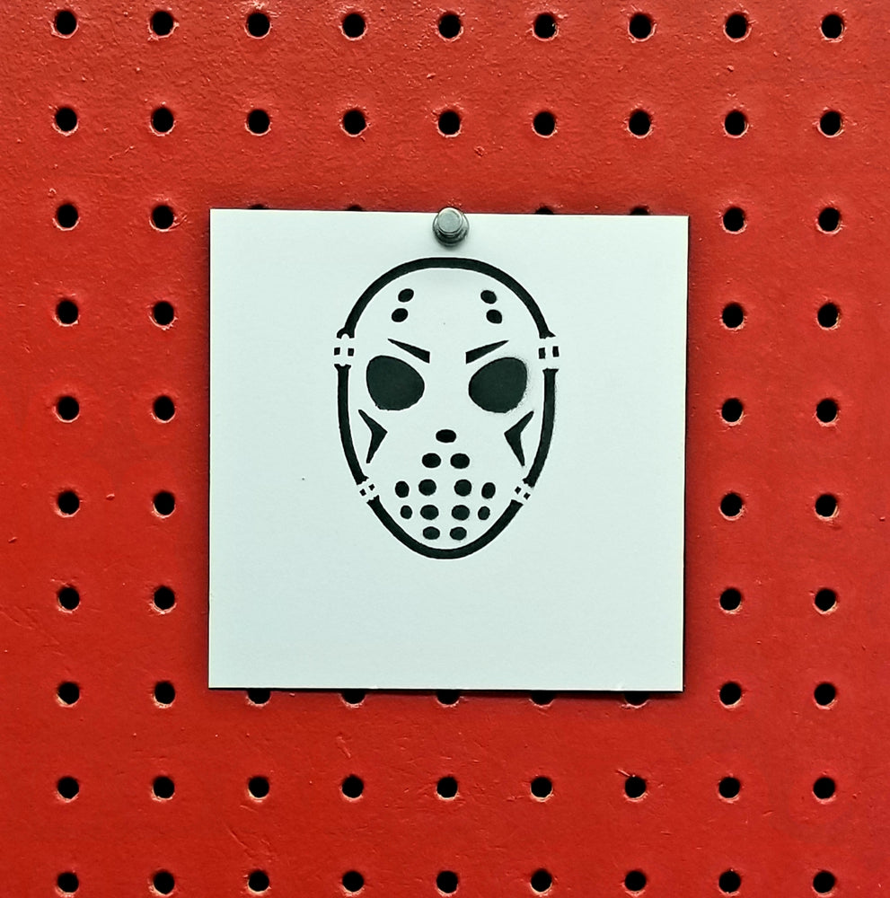 Jason Voorhees Friday The 13th Spray Paint Stencil