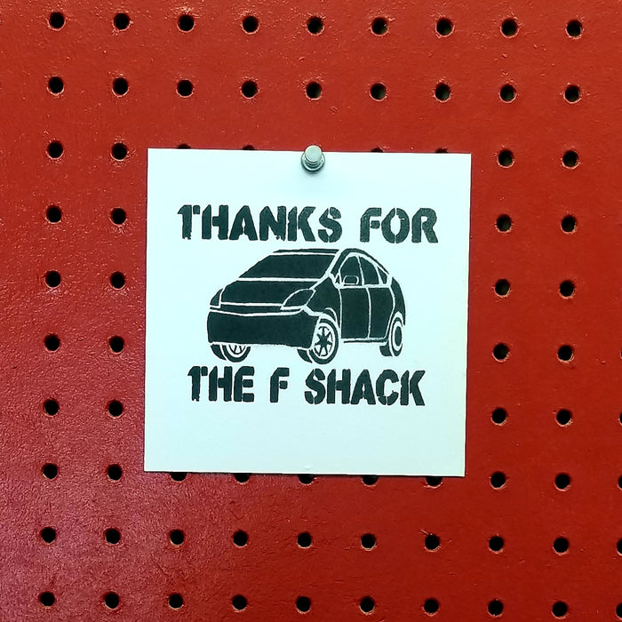 Thanks for the F Shack The Other Guys Spray Paint Stencil