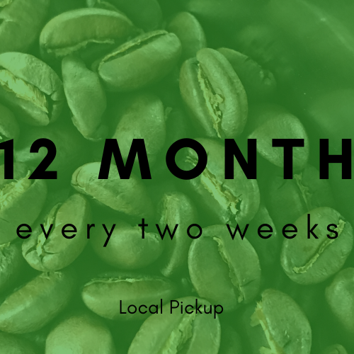 CSCR Membership - Coffee Every Two Weeks for a Year!  (That's awesome!)