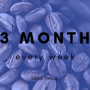 CSCR Membership - Coffee Every Week (Nice!) for 3 Months