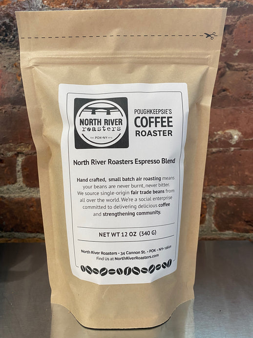 North River Roasters Espresso Blend - 12 ounce bag