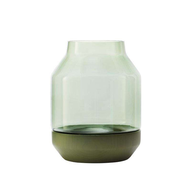 Muuto elevated green vase
