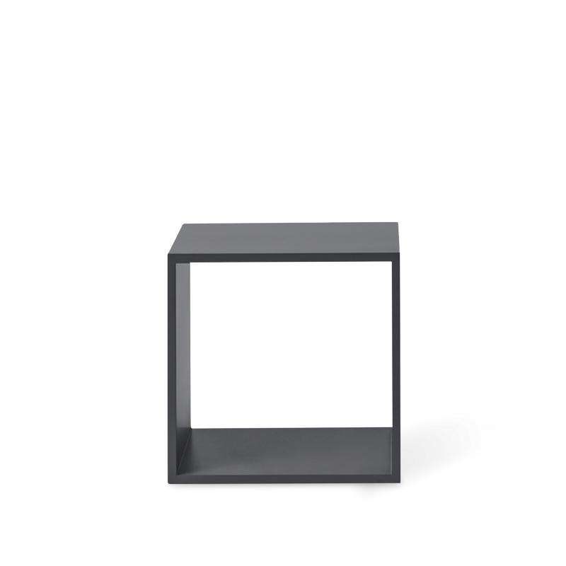 Muuto Stacked storage system open medium dark grey