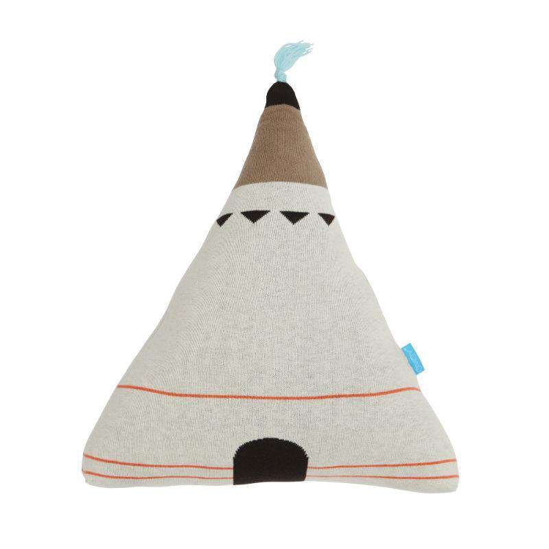 Oyoy kids cushion wigwam blue