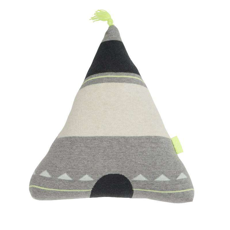 Oyoy kids cushion wigwam yellow