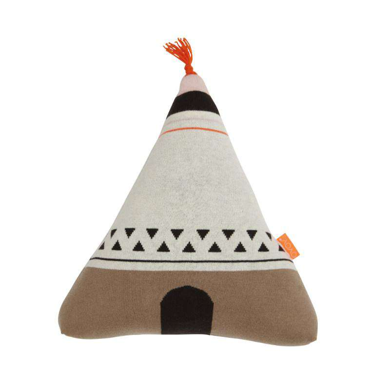 Oyoy kids cushion wigwam orange