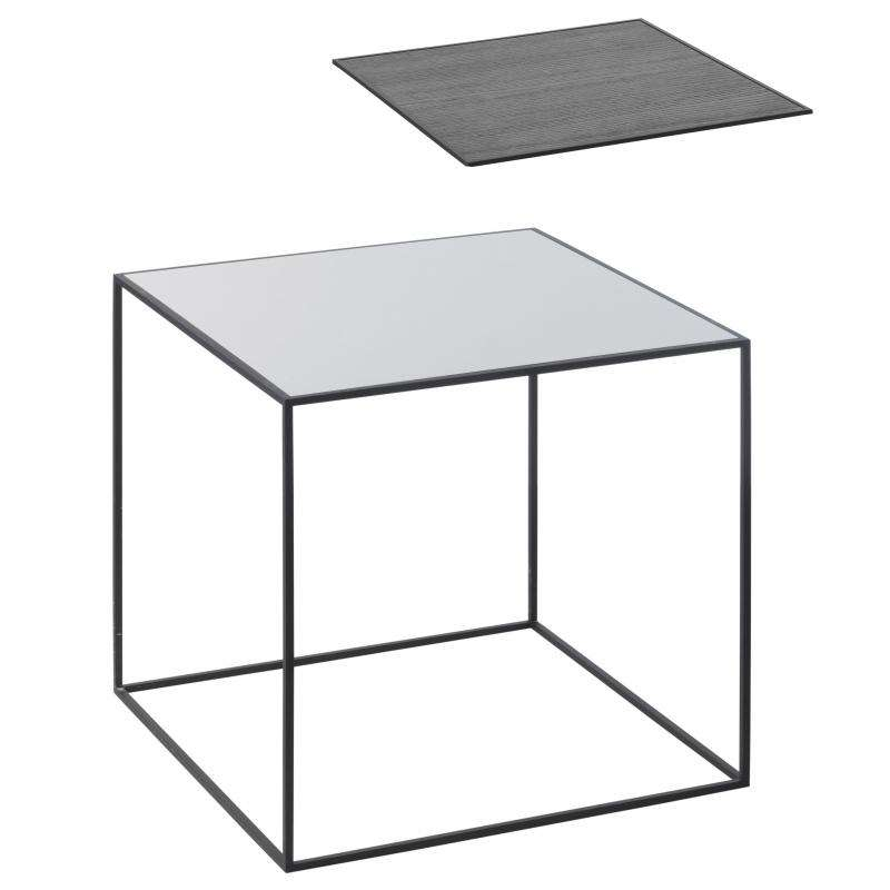 By Lassen Twin table 42 grey/black ash