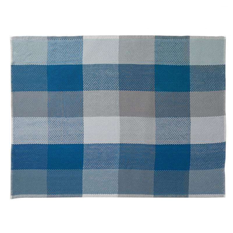 Muuto Loom throw blue