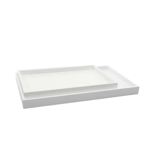 XLBoom low tray white rectangular