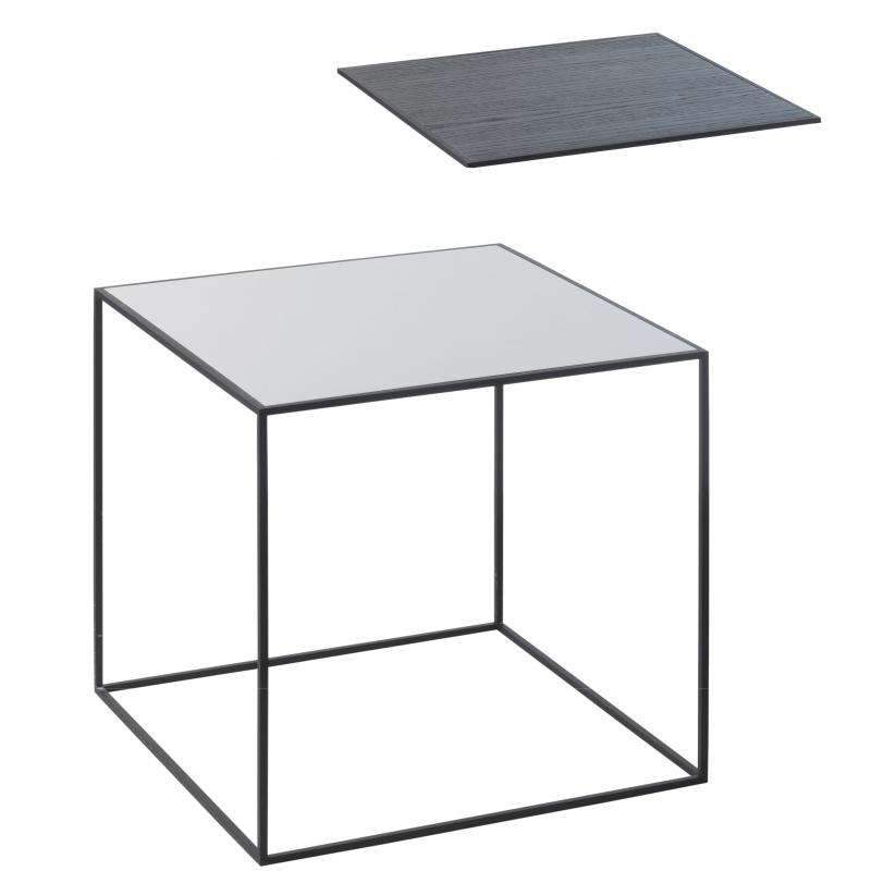 By Lassen Twin table 35 grey/black ash