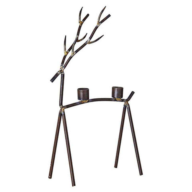 Oh deer candle holder