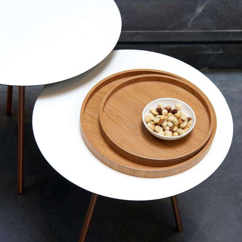 Low tray rond