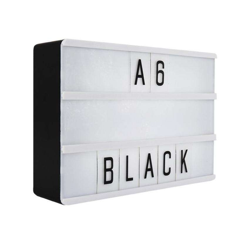 Locomocean Lightbox A6 black