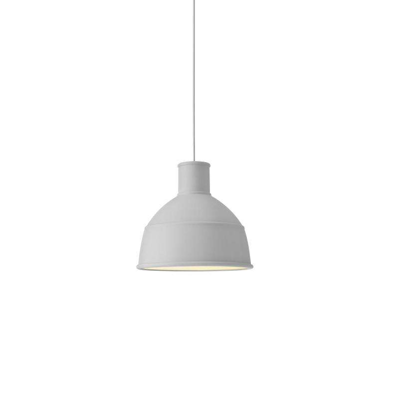Muuto Unfold pendant lamp light grey
