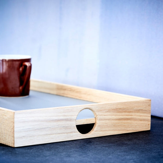 Oak Men Flip tray rectangular