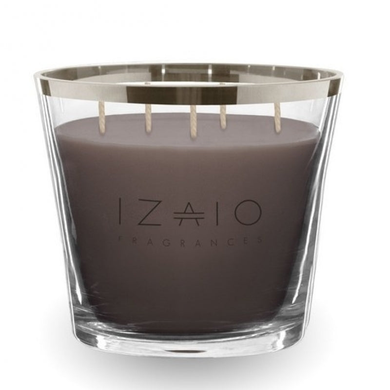 Scented candle Soho Argento Large Simply taupe