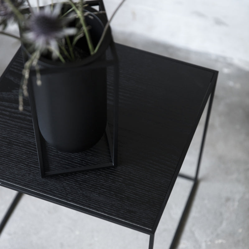 By Lassen twin table grey/black