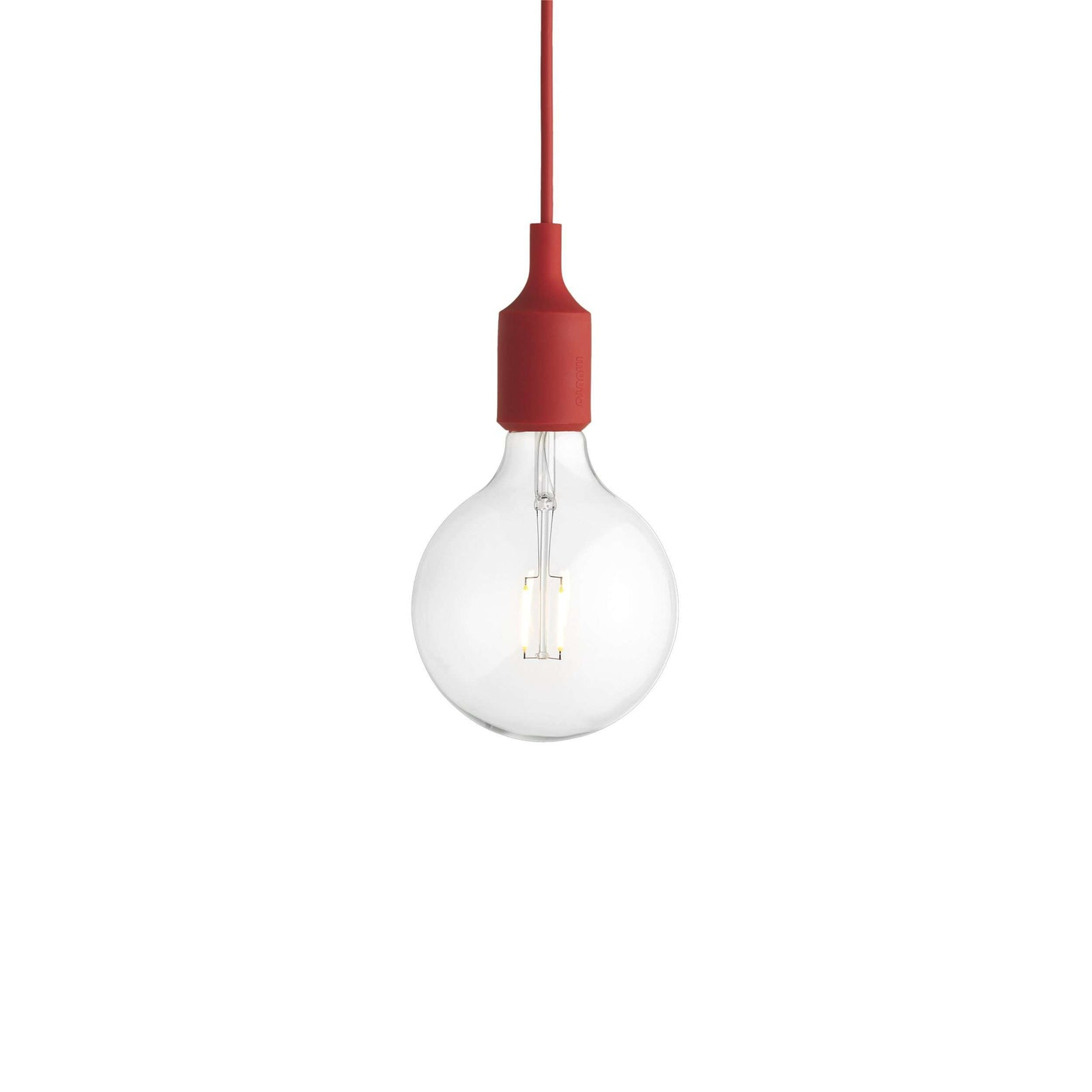 Muuto E27 pendant lamp red