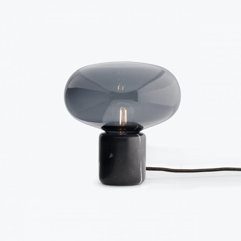 Karl-Johan table lamp black marble