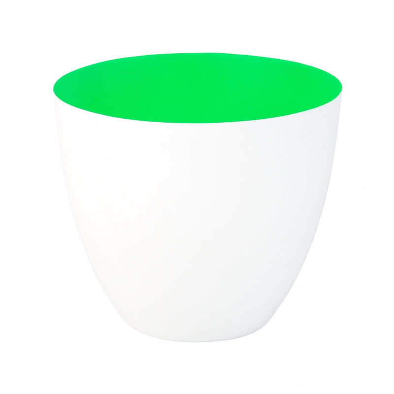 Tealight holder large fluo green &klevering
