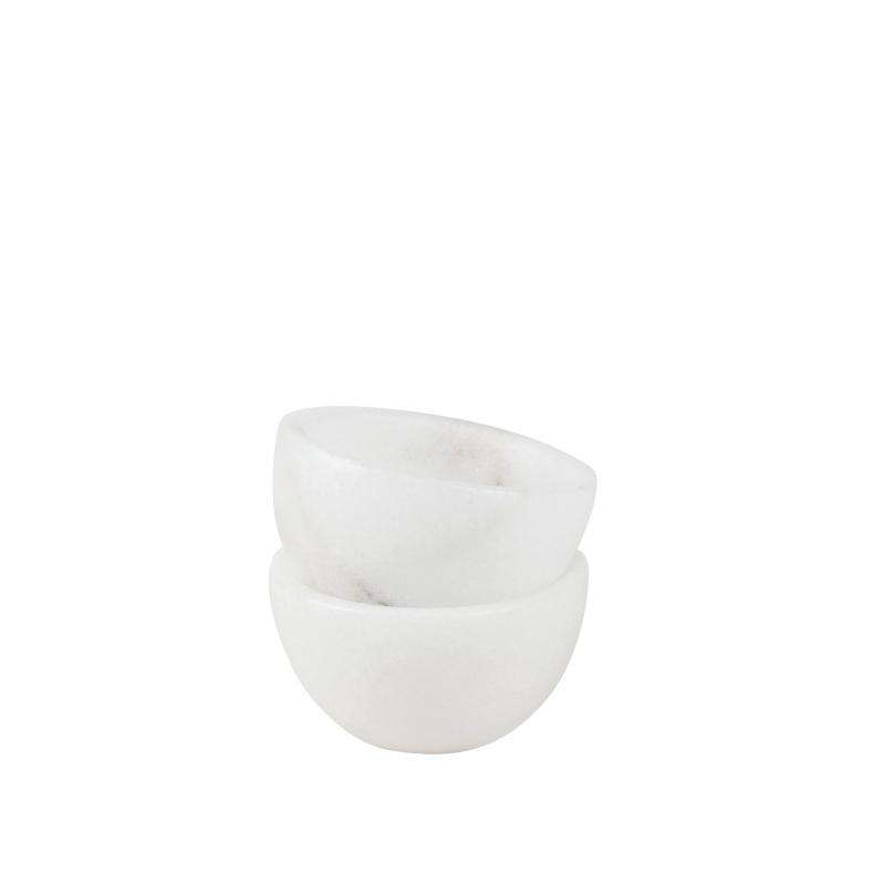 White marble bowl extra small