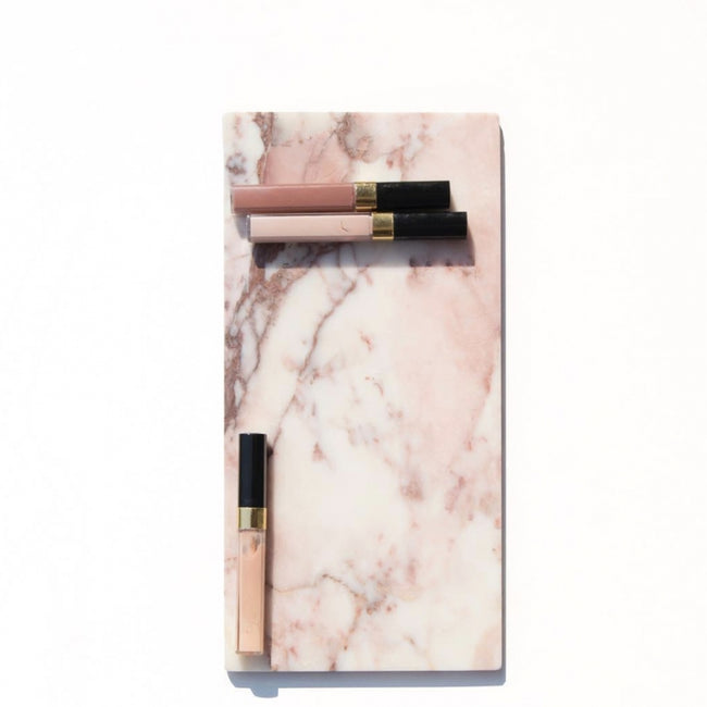 Marble board pink 15x30