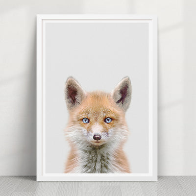 Fox Print - Strawberry Valley Prints Ltd