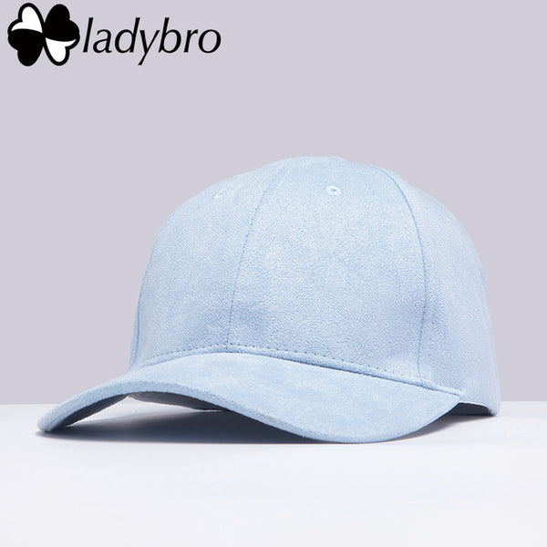 Solid Color Baseball Cap for Women Adjustable