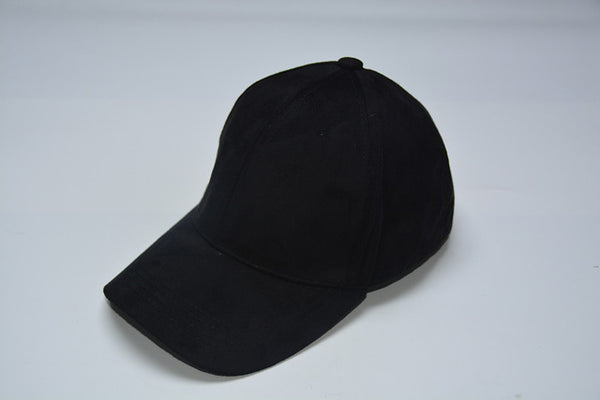 Faux Leather Unisex Snapback Baseball Cap