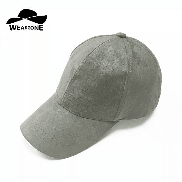 New High-quality Suede Baseball Cap Women Casquette Snapback Brim Caps Bones Hip Hop Hats Men Gorras