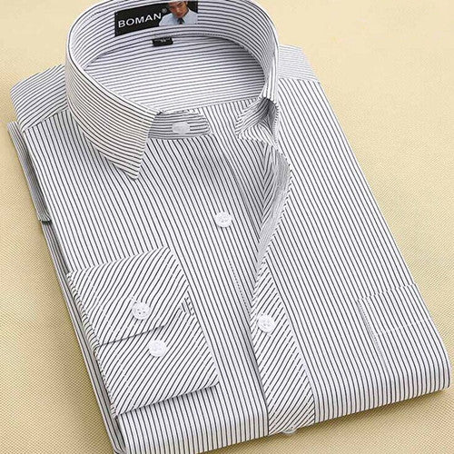 Long Sleeve Business Shirt in Different Colors