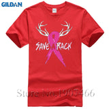 Save A Rack T-SHIRT Pink Ribbon Support Breast Cancer Awareness T-Shirt
