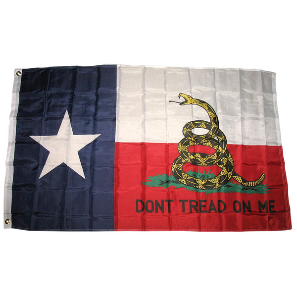 Dont Tread on Me State of Texas Flag