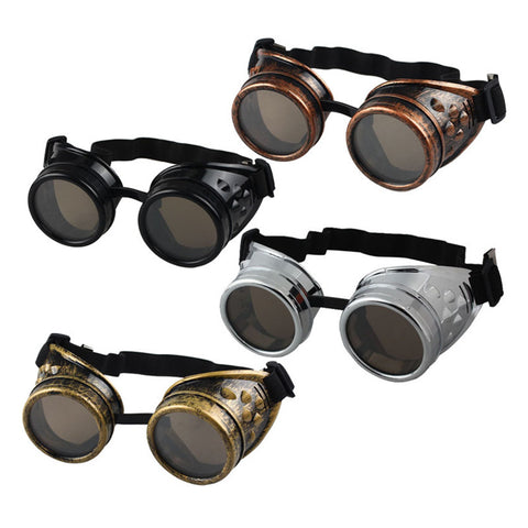Unisex Steampunk Goggles Great for Motorcycles