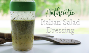 Authentic Italian salad dressing