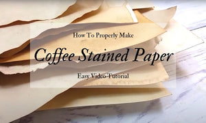 Coffee Stained Paper