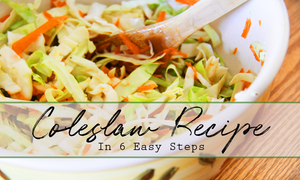 Quick easy coleslaw dressing recipe