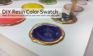 Resin Tint Color Swatch | DIY Resin Color Guide