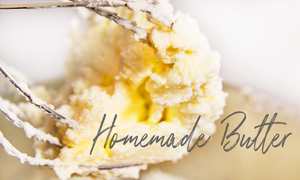 How to make easy homemade butter